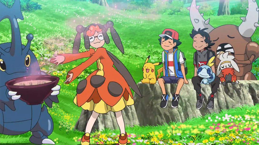 Capítulo 33 Viajes Pokémon - ¿Un intercambio Pokémon? (Resumen)
