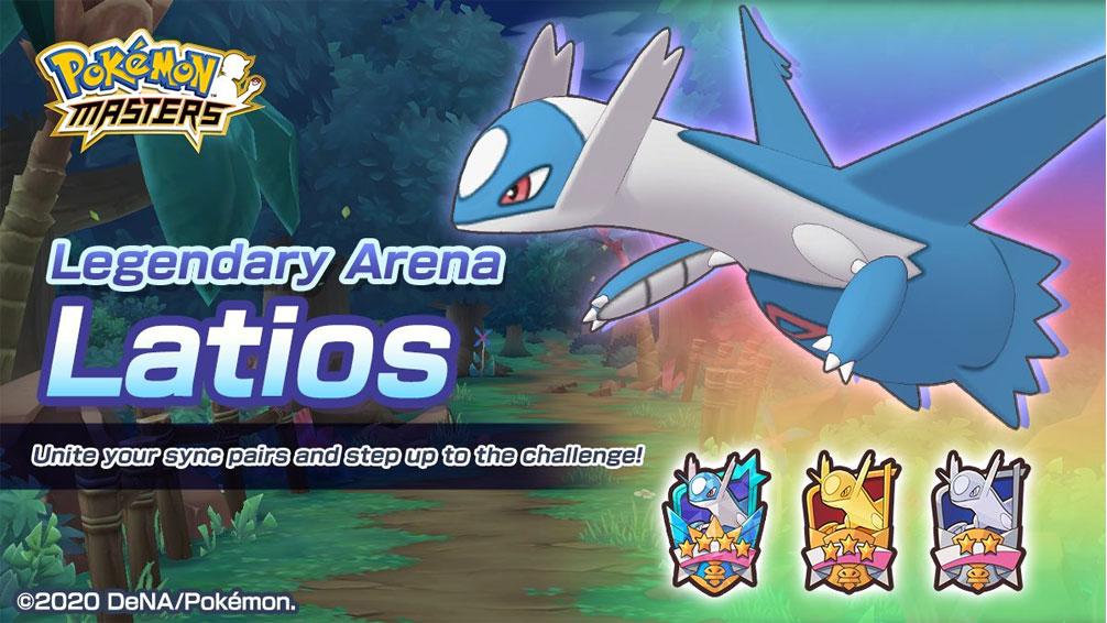 El Combate Legendario de Latios ya está disponible en Pokémon Masters