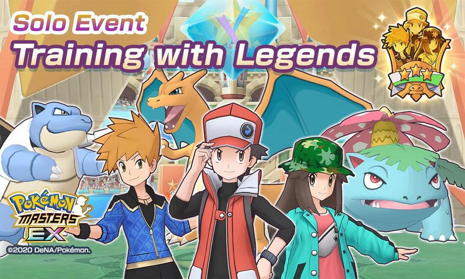 El evento Entrenando con Leyendas ya está disponible en Pokémon Masters EX