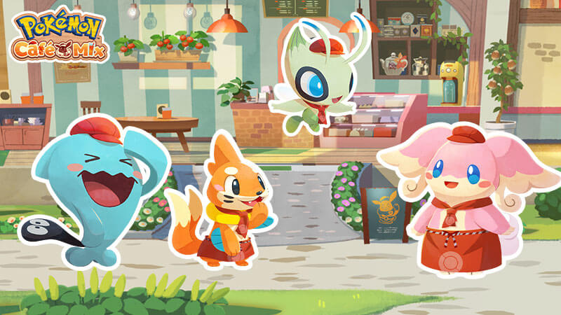 Pokémon Café Mix celebra 5 millones de descargas