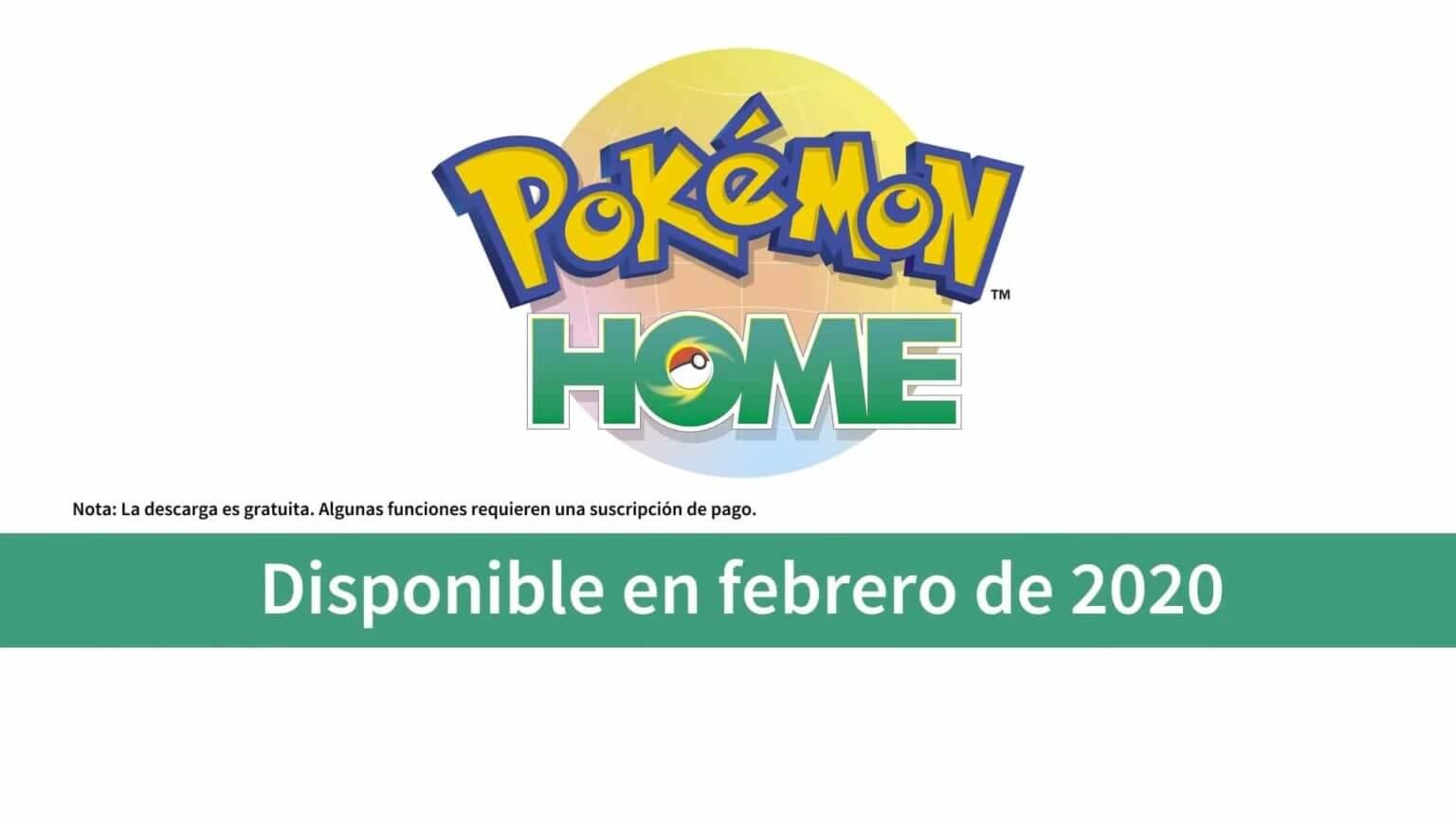 Pokémon Home llegará en el mes de Febrero de 2020