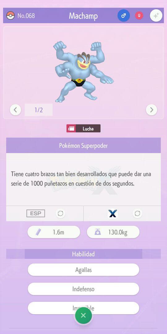 Pokédex Pokemon Home