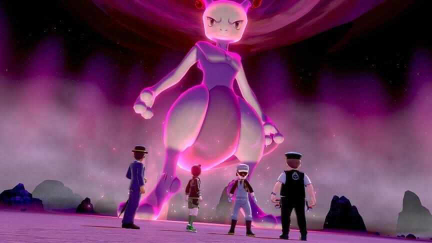 Mewtwo llega a las Incursiones Dianamax de Pokémon Espada y Escudo