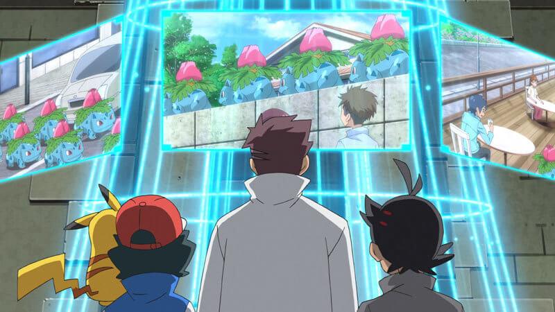 Capítulo 3 del nuevo anime de Pokémon - Ivysaur es bastante misterioso