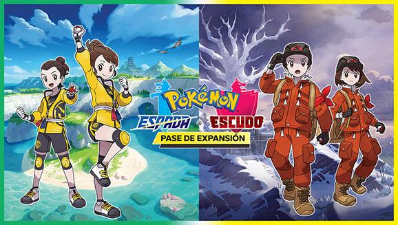 Pokémon anuncia una gran expansión para Pokémon Espada y Escudo