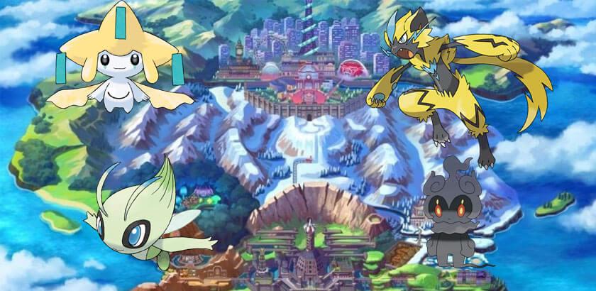 35 Nuevos Pokémon de antiguas generaciones llegan a Pokémon Espada y Escudo