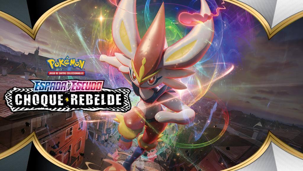 Nueva expansión del JCC Pokémon: Choque Rebelde