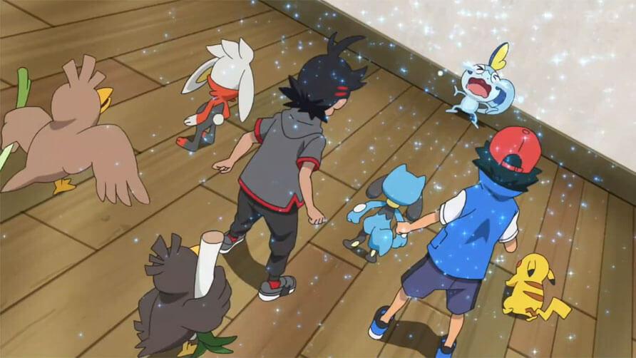 Capítulo 28 Pocket Monster / Viajes Pokémon - Sobble Solloza (Resumen)