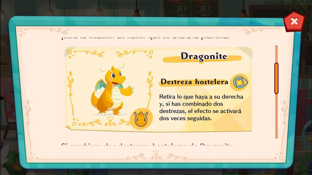 Dragonite llegará mañana a Pokémon Café Mix