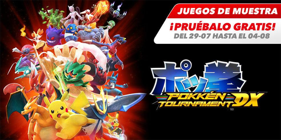 Pokkén Tournament DX estará gratis por 1 semana para los suscriptores de Switch Online