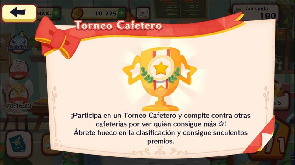 El Torneo Cafetero de Pokémon Café Mix ha comenzado