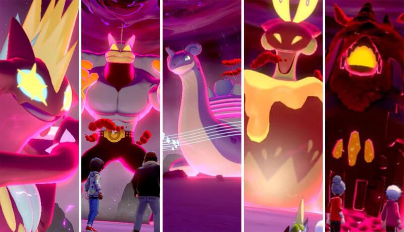 Nuevo evento Gigamax con una gran cantidad de Pokémon para Espada y Escudo