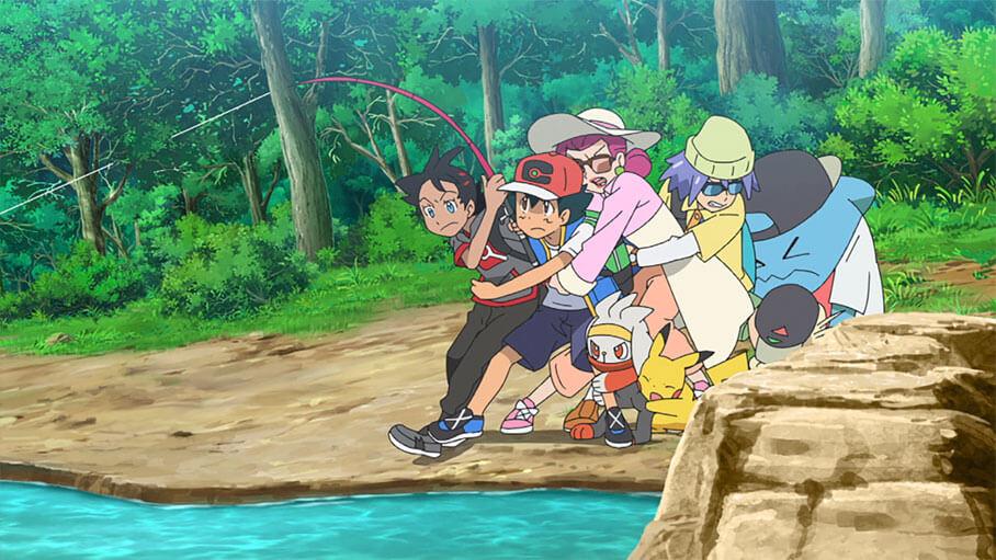 Capítulo 24 Pocket Monster / Viajes Pokémon - ¡Descansa, Equipo Rocket! (Resumen)