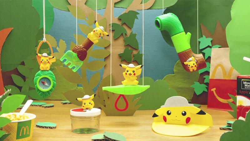 McDonald's traerá nuevos juguetes de Pokémon Coco a Japón
