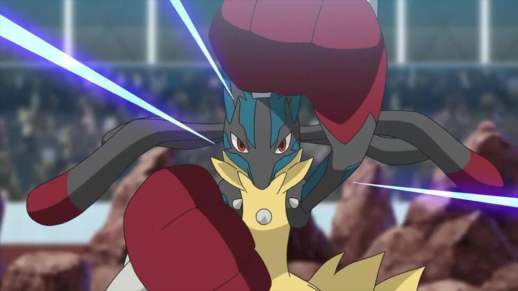 Capítulo 25 Pocket Monster / Viajes Pokémon - ¡¡VS Mega Lucario!! (Resumen)