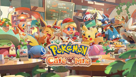 Pokémon Café Mix es anunciado para Switch, Android e iOS