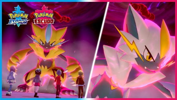 Consigue a Zeraora Shiny en Pokémon Espada y Escudo