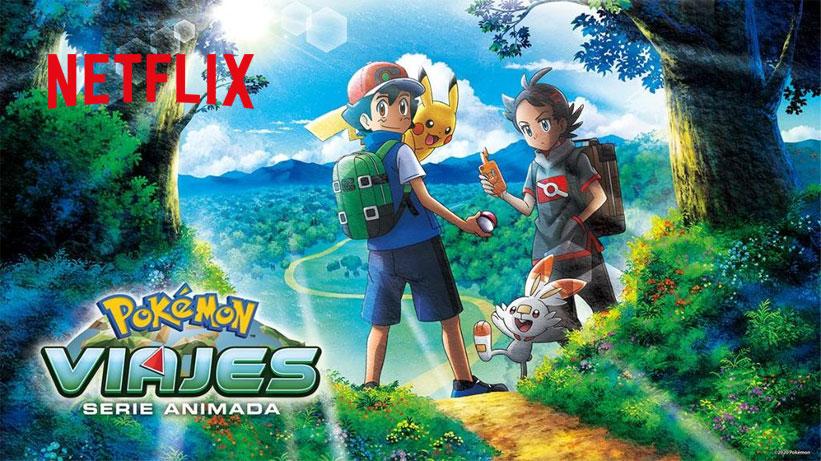 Netflix España lista la Serie Viajes Pokémon para este 12 de Junio