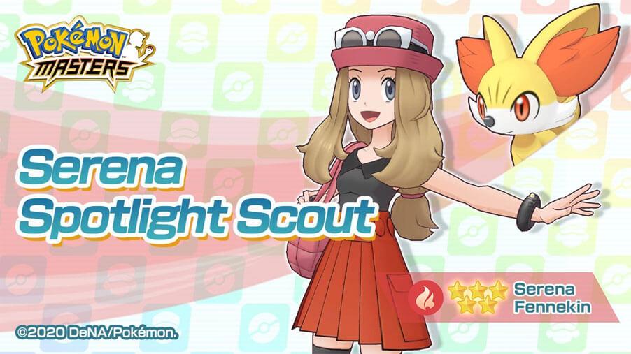 Serena y Fennekin llegan a Pokémon Masters junto a varios eventos especiales