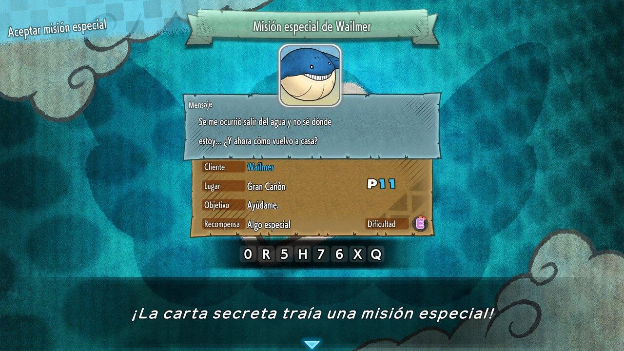 ▷ Lista de Códigos de Cartas Secretas de Pokémon Mundo Misterioso: Equipo de Rescate DX