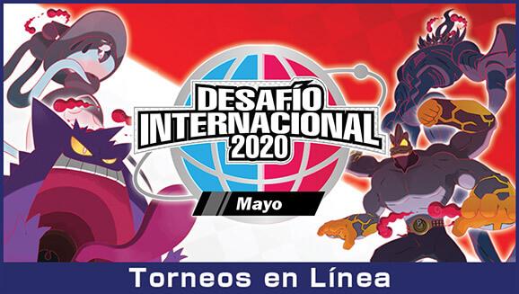 Desafío Internacional de Mayo 2020 para Pokémon Espada y Escudo