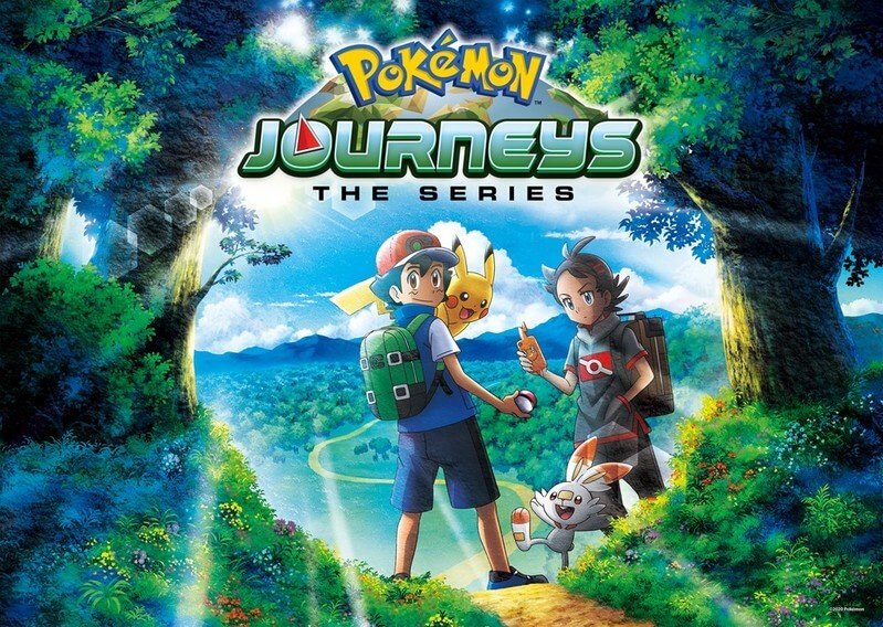 Se revela el opening, ending y más datos sobre la serie Viajes Pokémon en Inglés