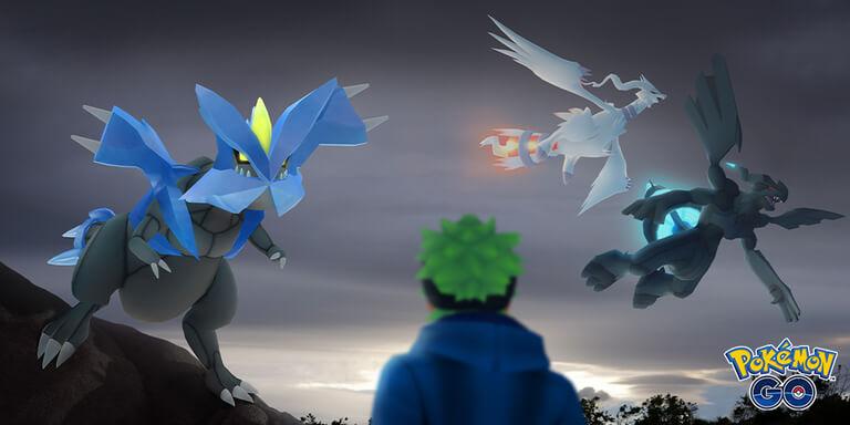 Reshiram, Zekrom y Kyurem llegarán pronto a Pokémon GO