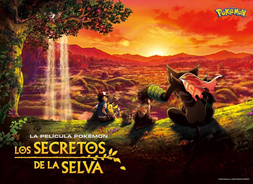 La Película Pokémon Los Secretos de la Selva es anunciada para el 2021
