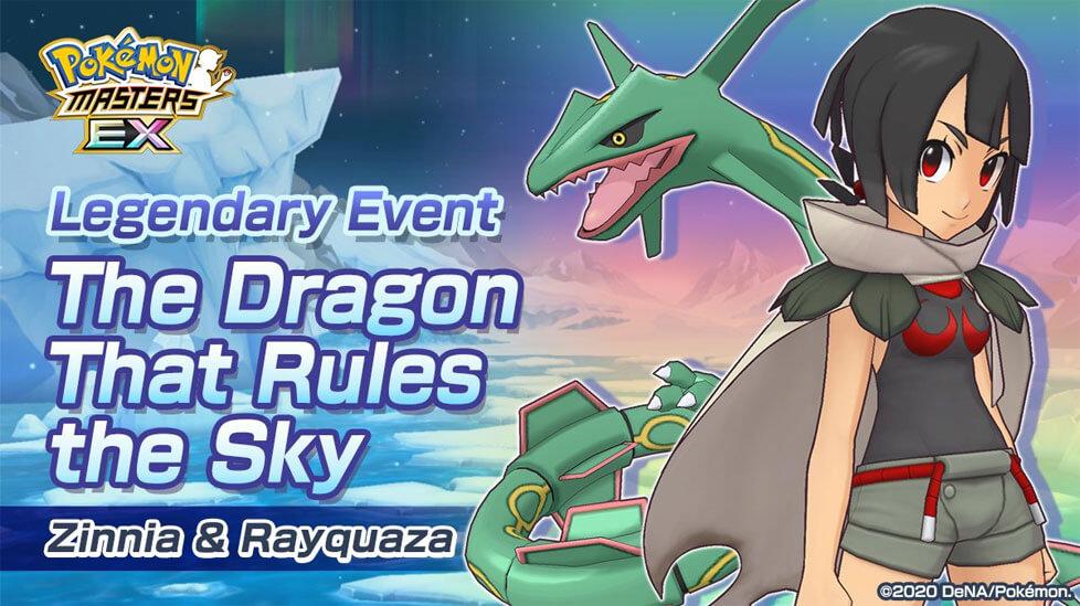 Tristana junto a Rayquaza regresan a Pokémon Masters EX