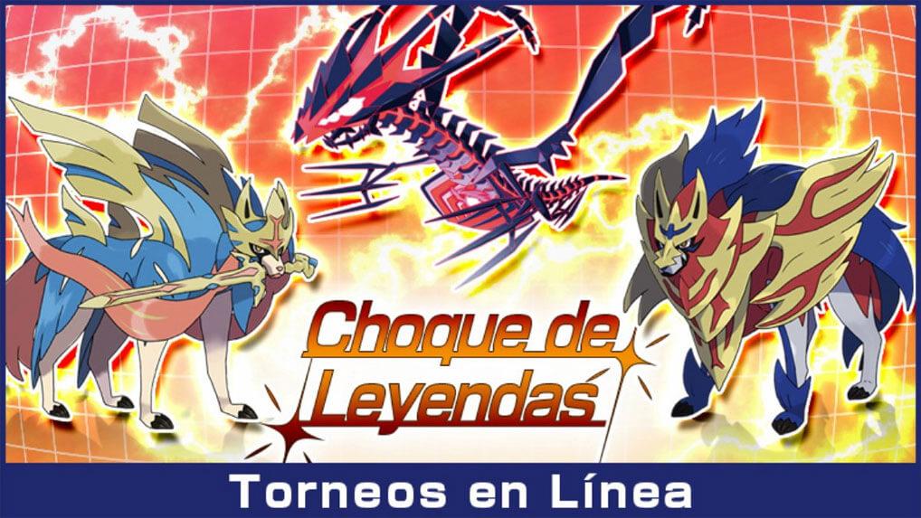 Choque de Leyendas, nuevo torneo en línea para Espada y Escudo es Anunciado