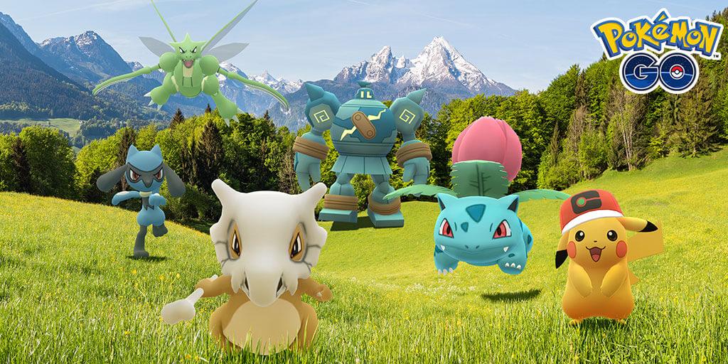Pokémon GO celebra la serie Viajes Pokémon con un evento