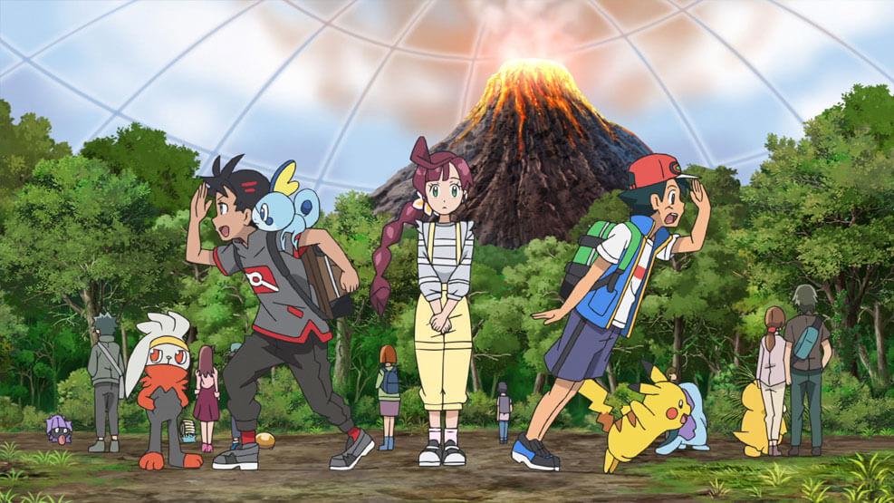 Capítulo 38 Pokémon Viajes - ¡El Pokémon Fósil!  (Resumen)