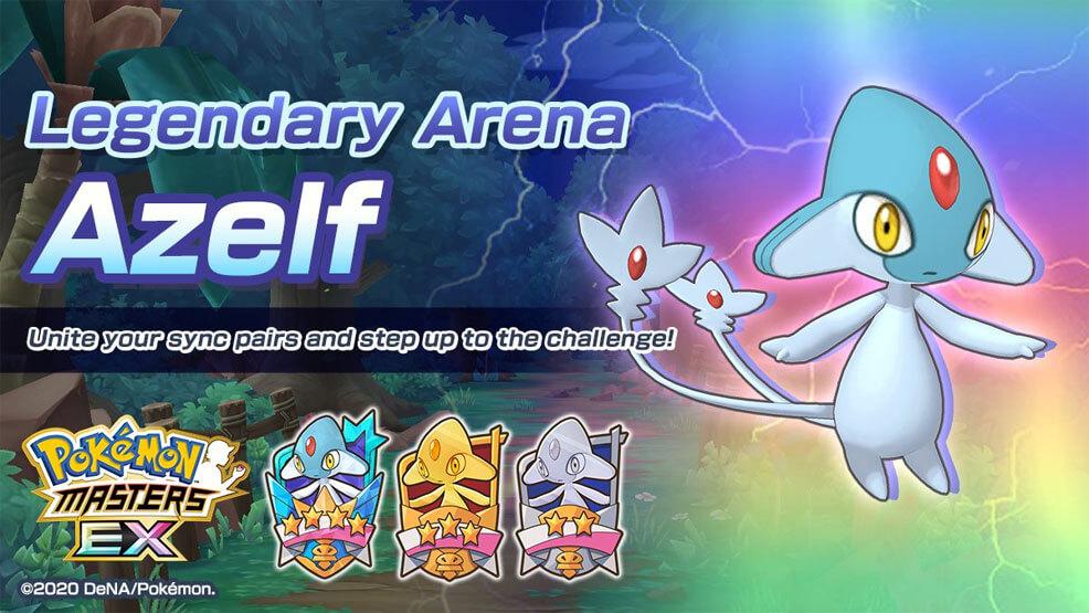 El Combate Legendario contra Azelf ya se encuentra disponible en Pokémon Masters EX