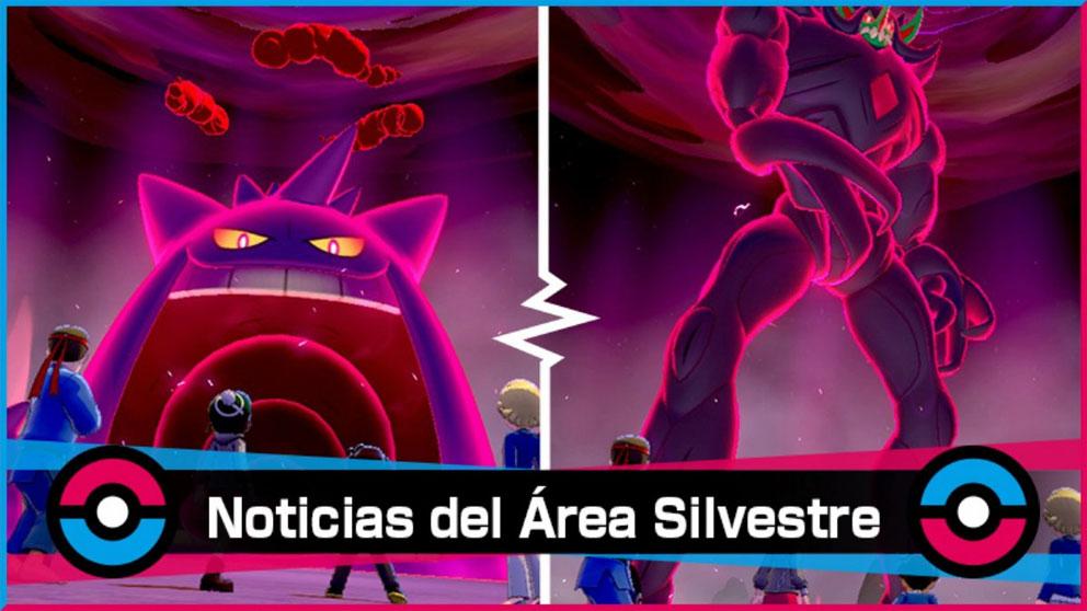 Nuevo evento de Incursiones Dinamax en Pokémon Espada y Escudo de tipo Fantasma y Siniestro