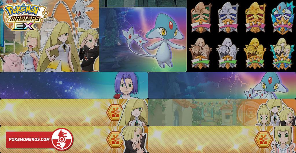 Pokémon Masters EX se actualiza a la versión 2.0.5