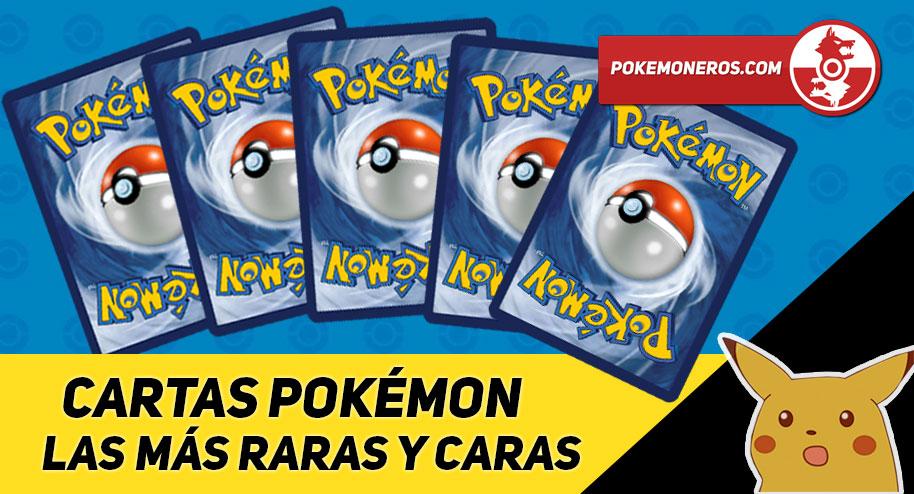 Conoce las cartas más raras y caras del TCG / JCC Pokémon
