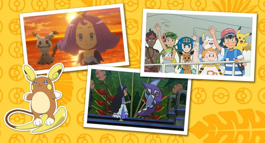 Mira el paso de Ash por el recorrido insular de Alola en TV Pokémon