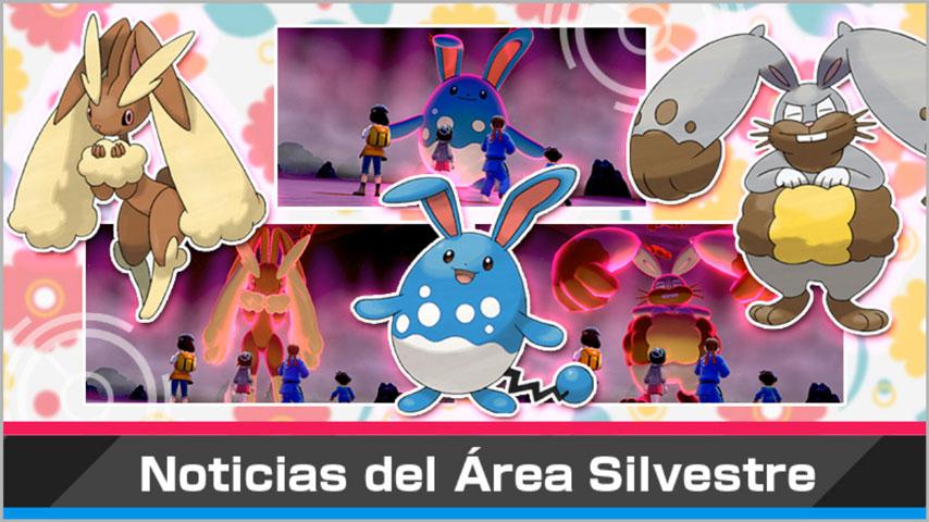 Evento Incursiones Dinamax basado en Pascua y protagonizado por Pokémon Conejos