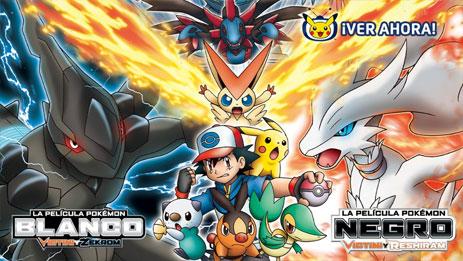 Mira la película Pokémon Negro / Blanco: Victini y Reshiram / Zekrom en TV Pokémon
