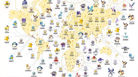 Conoce al Pokémon más popular de cada país