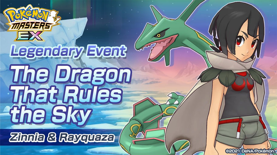 Tristana y Rayquaza regresan por tercera vez a Pokémon Masters