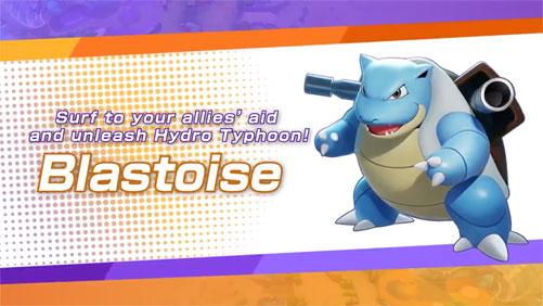 Pokémon UNITE: Blastoise llegará el 1 de Septiembre de 2021