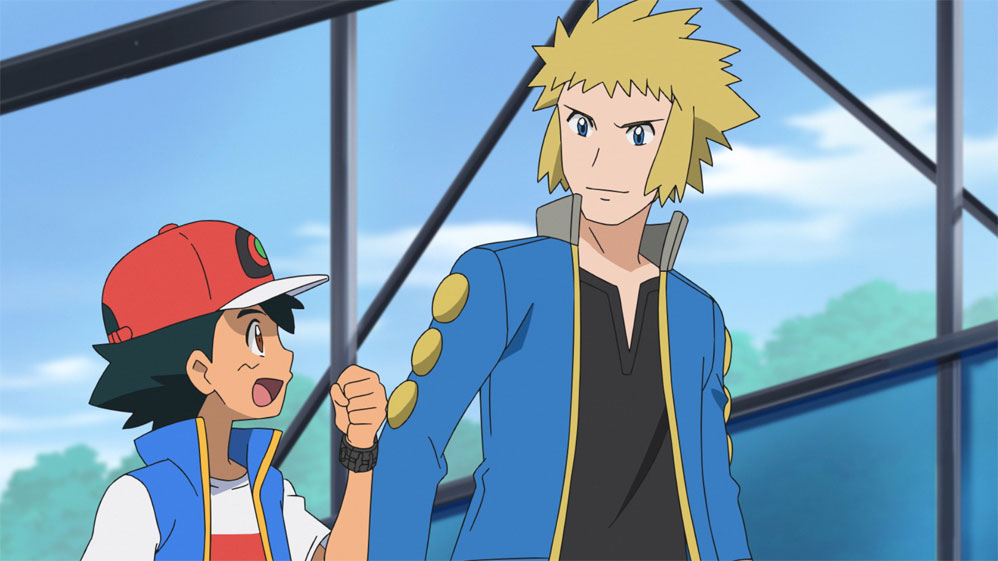 Lectro / Volkner regresa al Anime de Pokémon