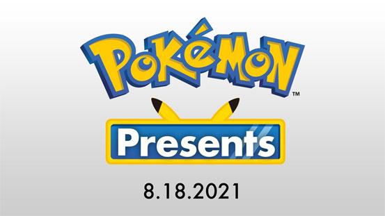 Nuevo Pokémon Presents anunciado para el 18 de Agosto de 2021