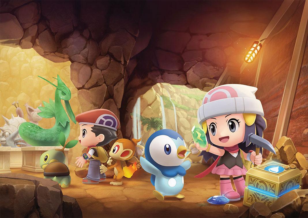 Nueva información sobre Pokémon Diamante Brillante y Perla Reluciente