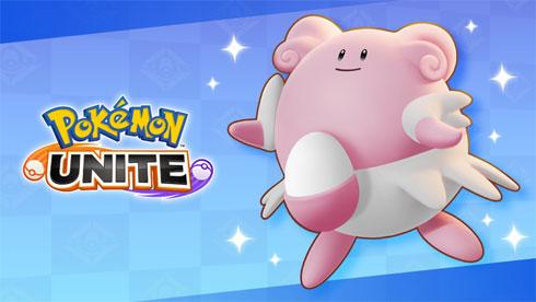 Blissey y el nuevo parche ya disponible en Pokémon UNITE