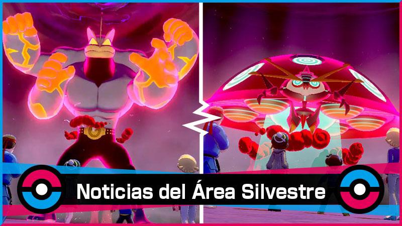 Nuevo Evento Dinamax de tipo Lucha y Psíquico para Pokémon Espada y Escudo