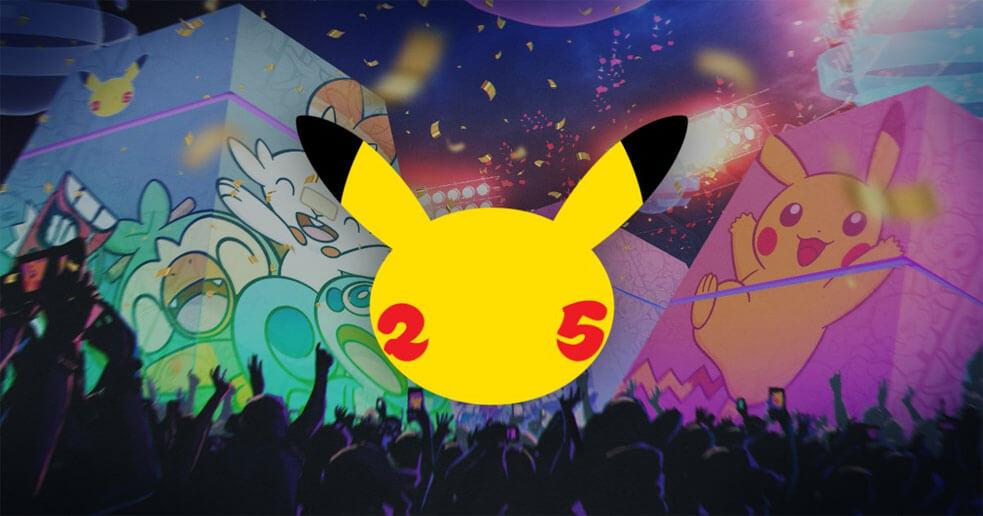 Pokémon nos anticipa la celebración del 25 aniversario de la franquicia