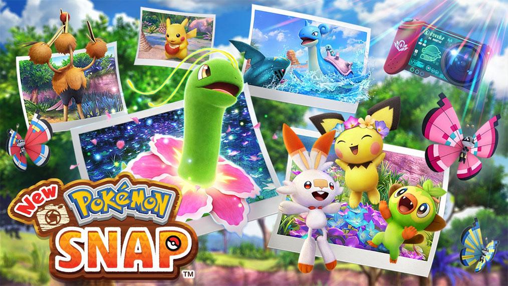 New Pokémon Snap llegará este 30 de Abril de 2021