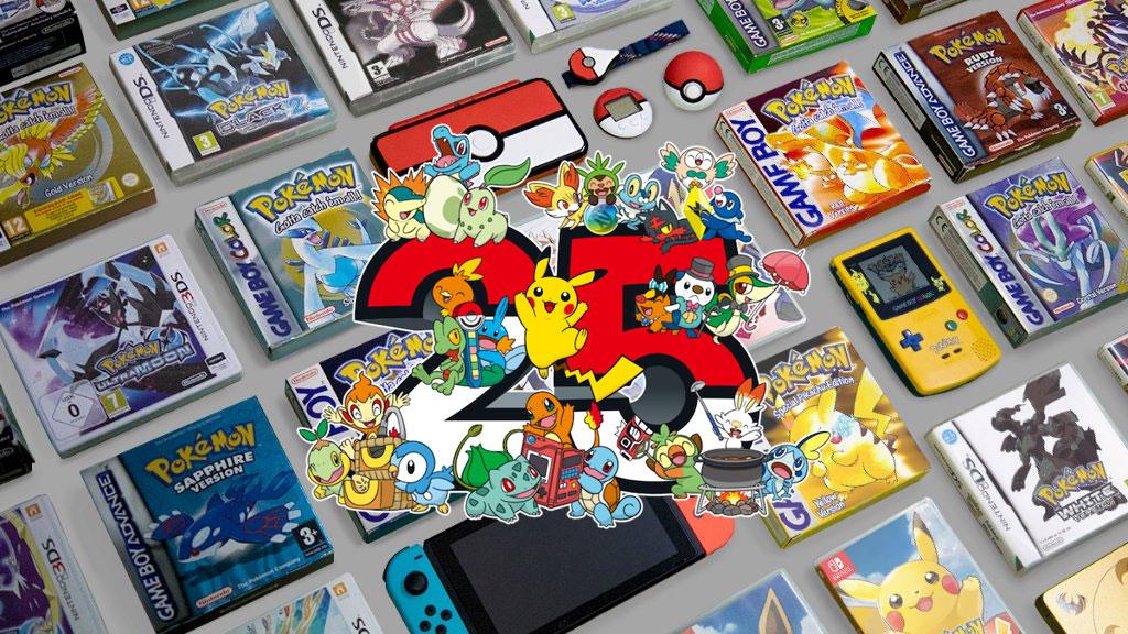 Feliz Aniversario 25 de Pokémon para Todos